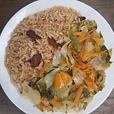 Rice w/beans & Vegetables