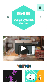 Portfolio website templates – Grafikdesigner