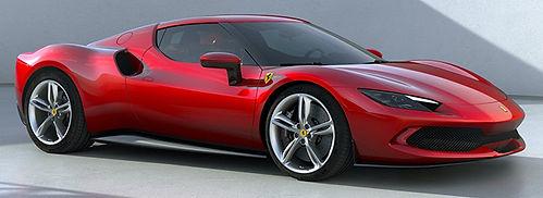 Introducing the 2022 Ferrari 296, a V6 Hybrid  Wherein Ferrari shows their engineering prowess