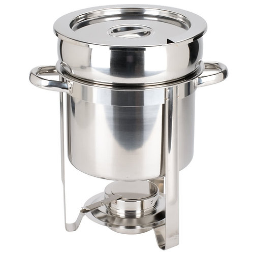 SOUP CHAFER 7. QT STAINLESS