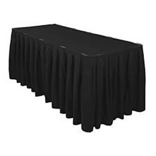 Table Skirt (Black