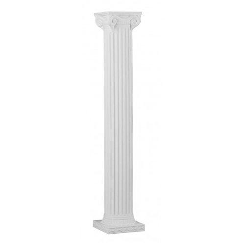 "Column, White Gothic 76"""