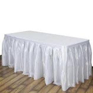 Table Skirt (White)