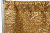DRAPE, SEQUIN GOLD, 12' X 4'