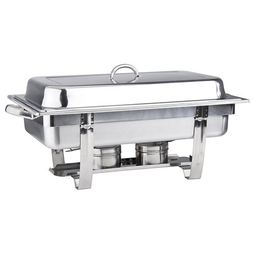 CHAFER, 8 QT. STAINLESS