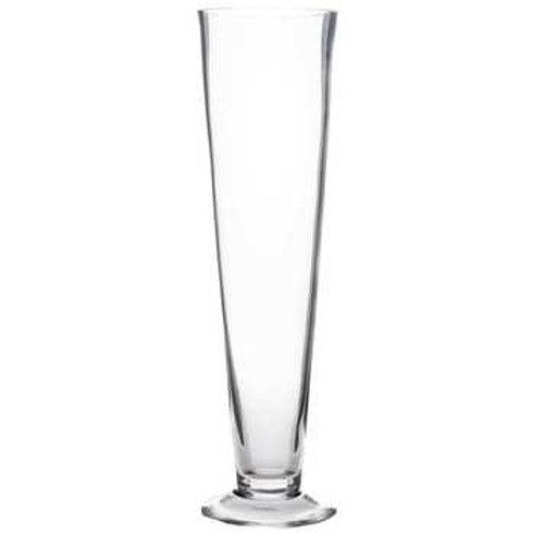 Medium Clear Pilsner Vase
