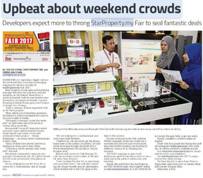 Upbeat About Weekend Crowds