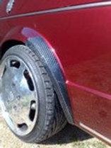 Sabot d'aile arrière Golf 1 GL Carbone