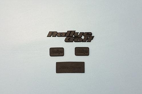 """ Golf Rallye "" - Monogramme kit complet"