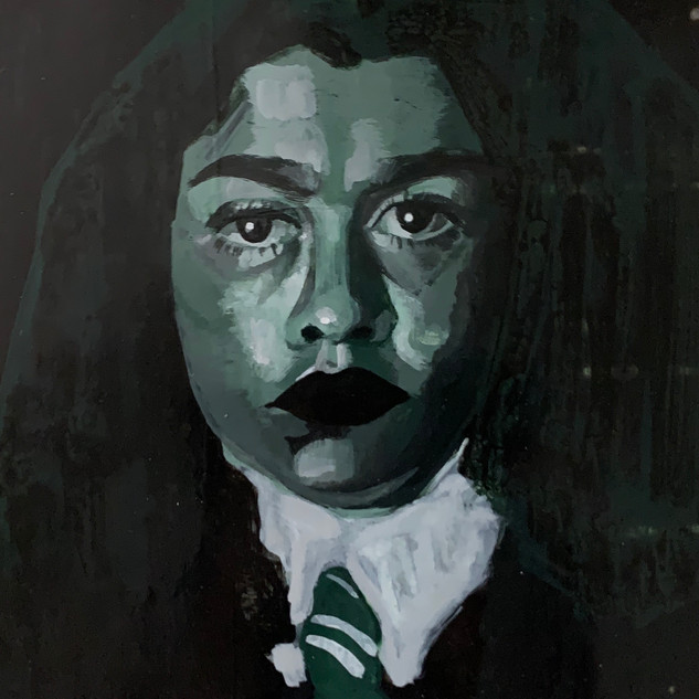 Me as A Member of Slytherin House