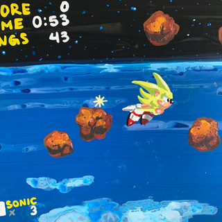Super Sonic with Meteors