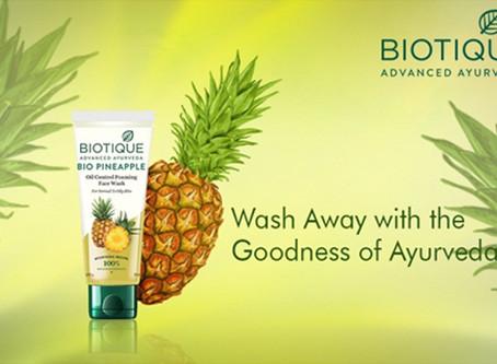 Bio Pineapple Foam Face Wash Wash 50 ml