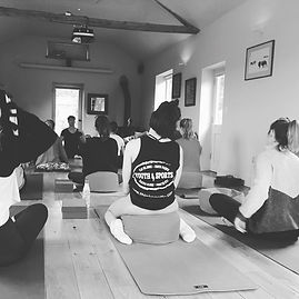 Retreat Yoga Class