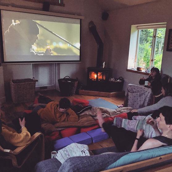 Retreat Movie Night