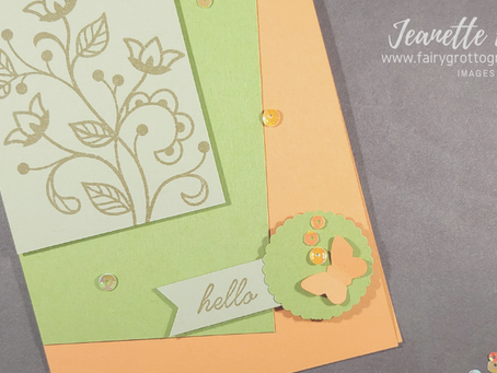 Simple Flourishing Phrases from Stampin' Up!