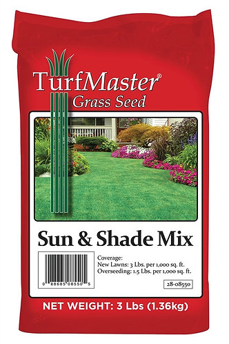 Sun & Shade Mix Grass Seed