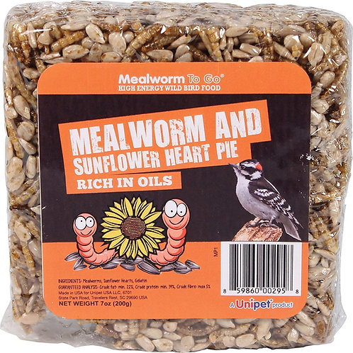 Mealworm To Go / Mealworm and Sunflower Heart Pie