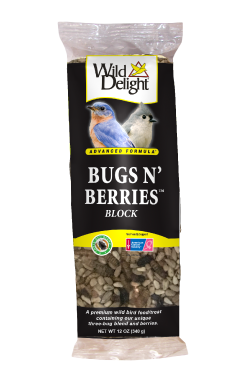 Wild Delight Bugs & Berries Block