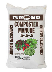 Composted Cow Manure 40lb Bag