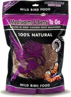 Mealworm & Berry To Go