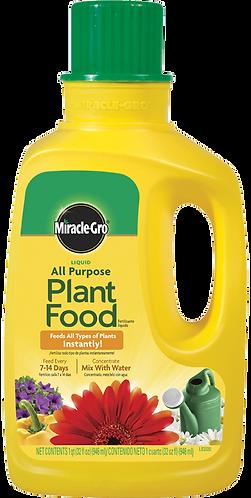Miracle Gro Liquid All Purpose Plant Food