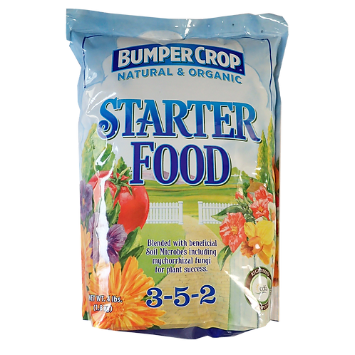 Bumper Crop Nat & Organic Starter Food