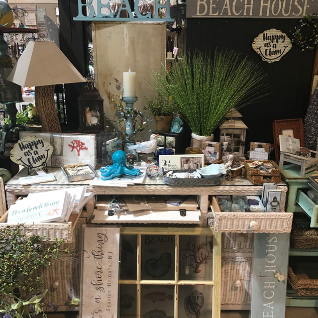 Beach Decor for your Shore House