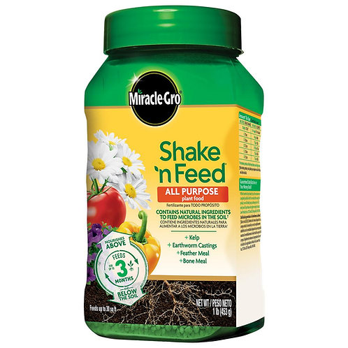 Miracle Gro Shake n' Feed All Purpose