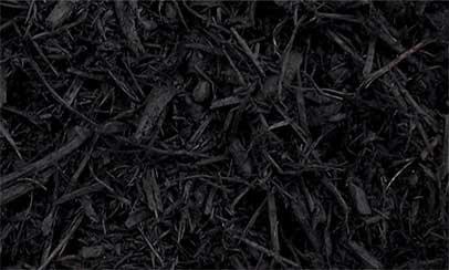 Hardwood Mulch Black Dyed