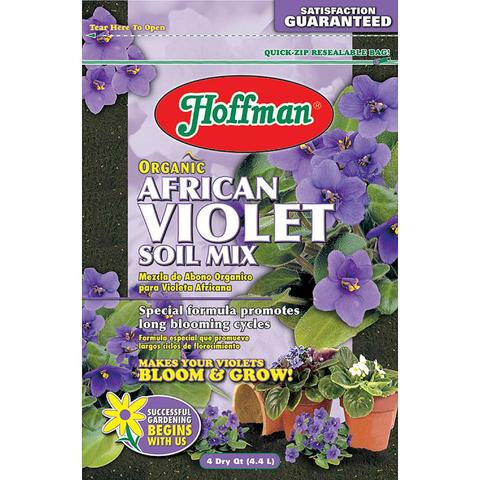 African Violet Soil Mix, Organic