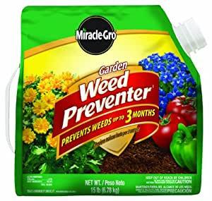 Miracle Gro Garden Weed Preventer