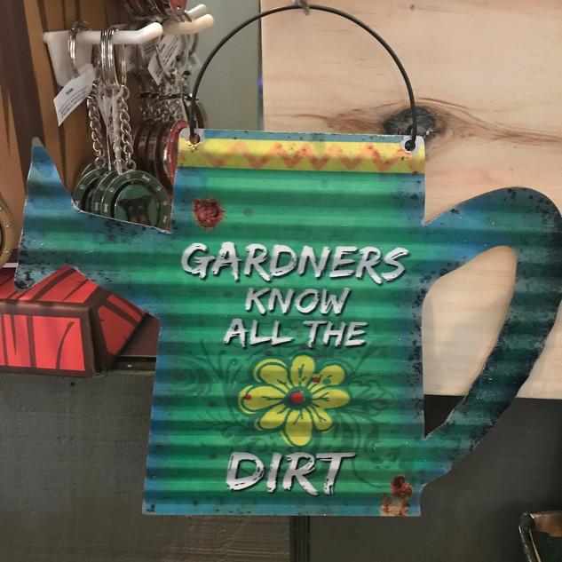 Fun Garden Signs