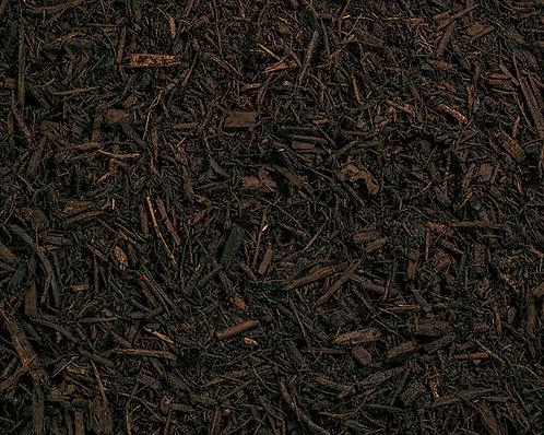 Hardwood Mulch Brown Dyed