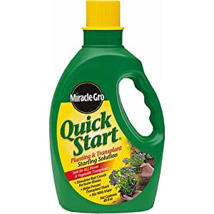 Miracle Gro Quick Start Solution
