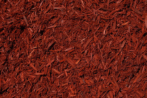 Hardwood Mulch Red Dyed