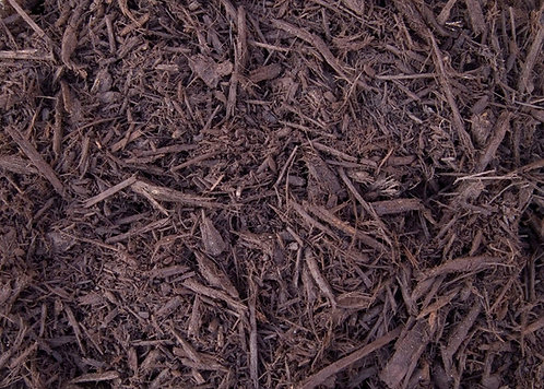 Cedar Mulch Brown Dyed