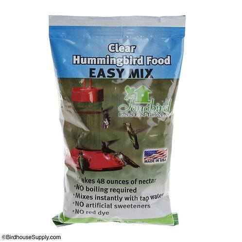 Clear Hummingbird Food Easy Mix