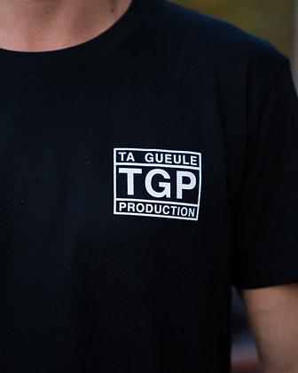 T-shirt noir Ta Gueule Production