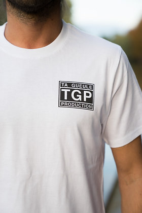 T-shirt blanc Ta Gueule Production