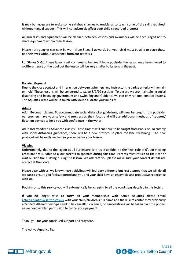 Active Aquatics Restricted Service Full