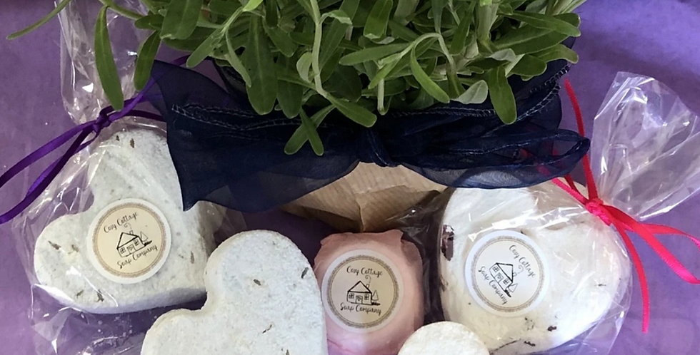 Essential Oil Fragranced Bath Bombs
