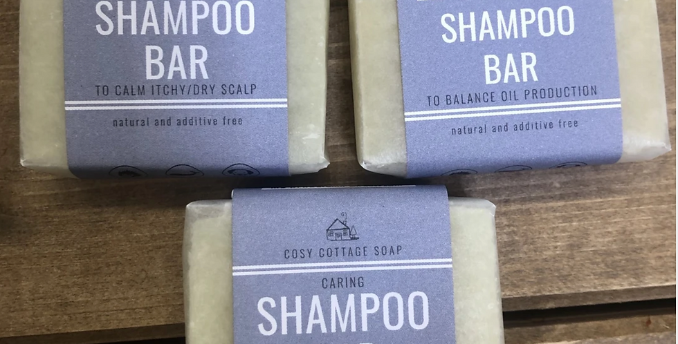 Caring Shampoo Soap Bar
