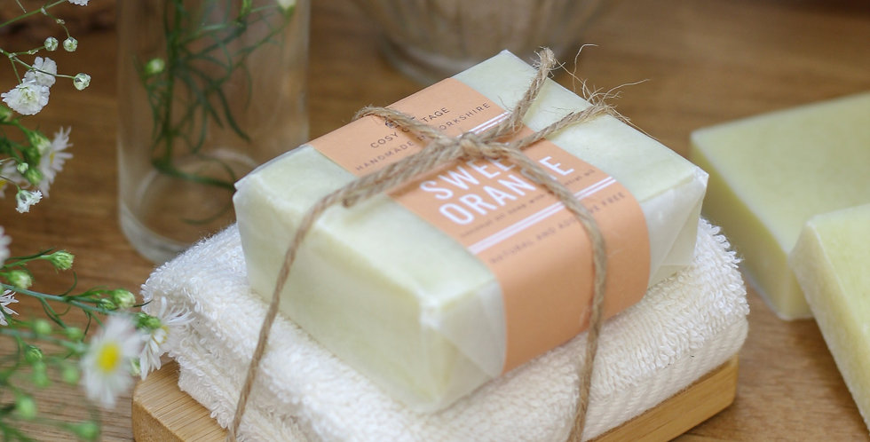 Soap and Wooden Dish Gift Set