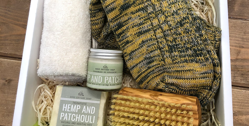 Men's Hemp & Patchouli Gift Box