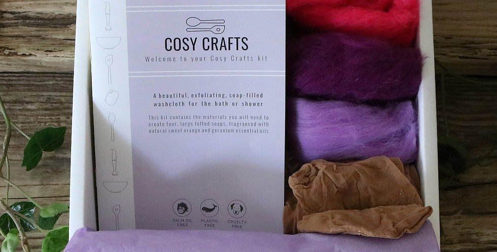 Cosy Crafts - Make Your Own Felted Soap