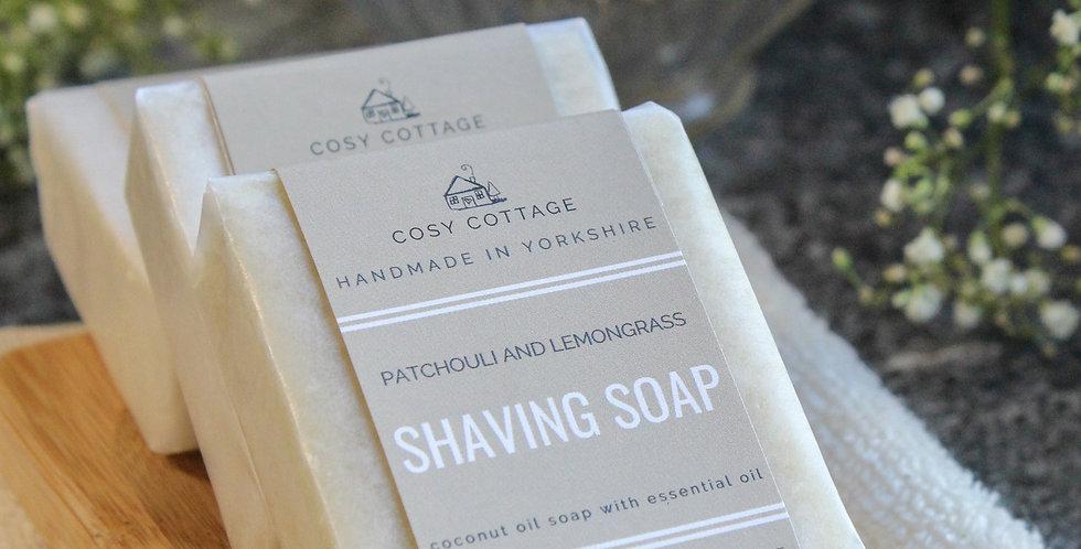 Lemon & Patchouli Shaving Soap