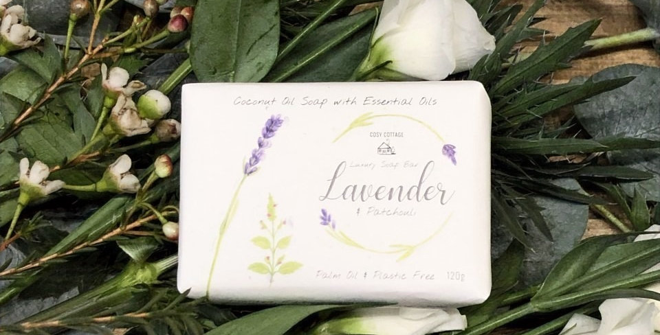 Lavender and Patchouli 120g Luxury Soap