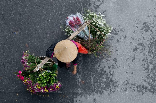 flower vendor n°2