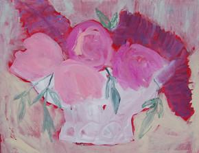 fleurs pivoines et lilas - 2975