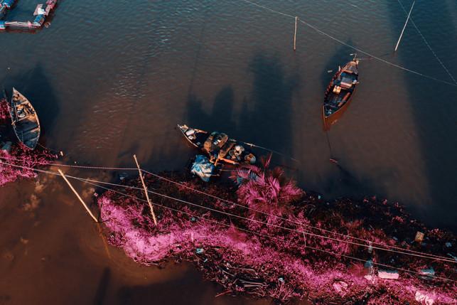 vietnamese dreamscapes - fisherman